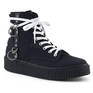 Plátno 4 cm SNEEKER-256 sneakers creepers boty panske