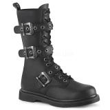 Vegan BOLT-330 demonia kozačky - unisex vojenské boty