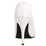 Bílá Lakované 13 cm SEDUCE-420 Lodičky pro muže
