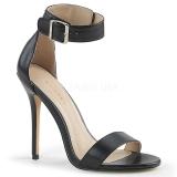 Koženka 13 cm Pleaser AMUSE-10 dámské sandály na podpatku