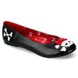 Koženka PUNK-14 dámské baleríny obuv