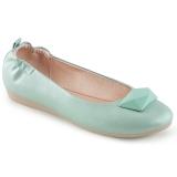 Modrý OLIVE-08 balerina ploché dámské boty