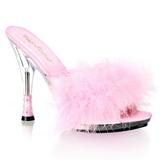 Pink 12,5 cm GLITZY-501-8 marabu peri Vysoké Podpatku