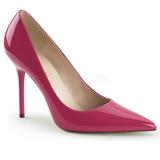 Pink Lakované 10 cm CLASSIQUE-20 Lodičky Dámské Stiletto Podpatků