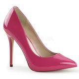 Pink Lakované 13 cm AMUSE-20 Lodičky Dámské Stiletto Podpatků