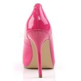 Pink Lakované 13 cm AMUSE-20 Lodičky na jehlovém podpatku