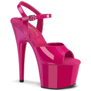 Pink platformě 18 cm ADORE-709 pleaser vysoké podpatky