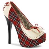 Prehoz Vzor 14,5 cm Burlesque TEEZE-26 dámské boty na vysokém podpatku