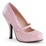 Růžový Lakované 12 cm CUTIEPIE-02 Vysoké lodičky na podpatky