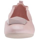 Růžový OLIVE-08 balerínky ploché dámské boty