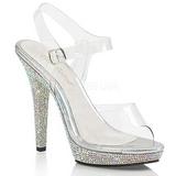 Strass kamen 13 cm LIP-108DM dámské boty na vysokém podpatku