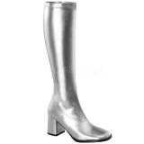 Stříbro 8,5 cm Funtasma GOGO-300 Dámské Kozačky