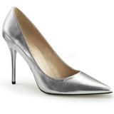 Stříbro Matná 10 cm CLASSIQUE-20 Lodičky pro muže