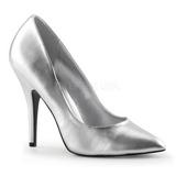 Stříbro Matná 13 cm SEDUCE-420 Lodičky pro muže