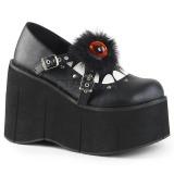 Vegan 11,5 cm Demonia KERA-11 platformě gotické boty