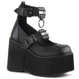 Vegan 11,5 cm Demonia KERA-12 platformě gothic boty