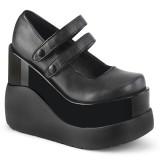 Vegan 13 cm VOID-37 alternativní boty platformě cerny