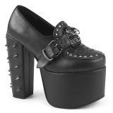 Vegan 14 cm Demonia TORMENT-500 platformě gotické boty