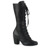 Vegan 7,5 cm VIVIKA-205 Viktoriánské kotníkové boty