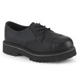 Vegan RIOT-03 demonia boty  - unisex punk boty ocelové špice