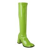Zelený 7,5 cm Funtasma GOGO-300 Dámské Kozačky