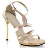 Zlato 11,5 cm CHIC-46 Platformě Sandály Podpatky