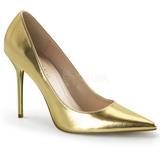Zlato Matná 10 cm CLASSIQUE-20 Lodičky pro muže
