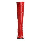 Červený 8,5 cm Funtasma GOGO-300 Dámské Kozačky