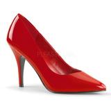 Červený Lakované 10 cm VANITY-420 Lodičky pro muže