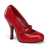 Červený Lakované 12 cm retro vintage CUTIEPIE-02 Vysoké lodičky na podpatky