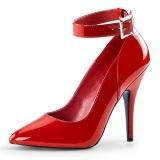 Červený Lakované 13 cm SEDUCE-431 Lodičky pro muže