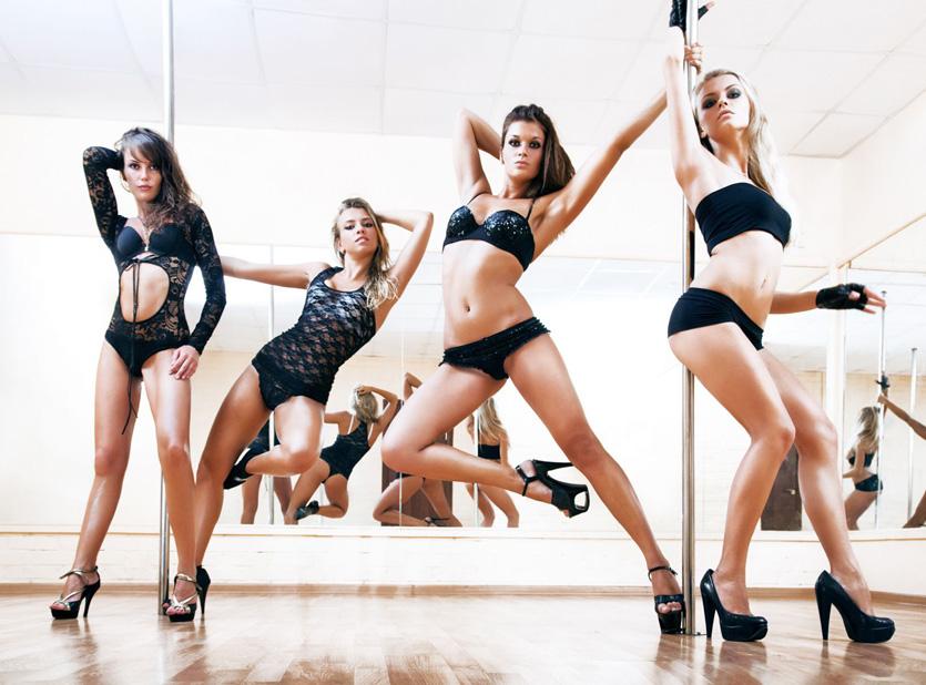 high heels boty na pole dance