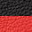 černé - červené boty na podpatku